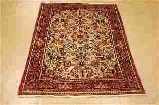 Antique Detailed High Kpsi Persian Bijar Rug 3.2x4.10