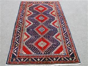 Persian Hamadan Rug 5x10