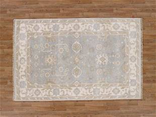 5 X 8 Beautiful Oushak Area Rug Made By Hand