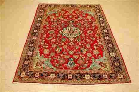 Antique Persian Sarouk Farahan Rug 4.3x6.7