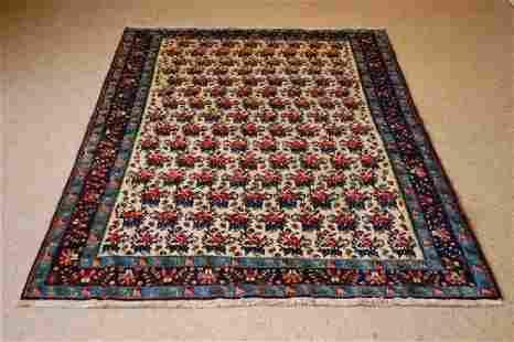 Antique Persian Shiraz Qashkai Rug 4.10x6.5