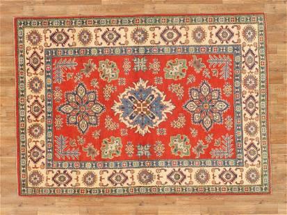 5 X 7 Vibrant Kazak Area Rug Made By Hand