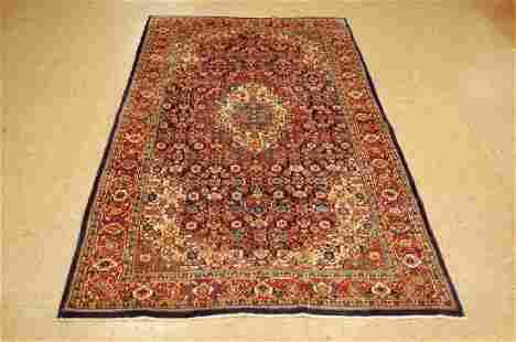 Antique Super Detailed Persian Sarouk Rug 4.3x7.2