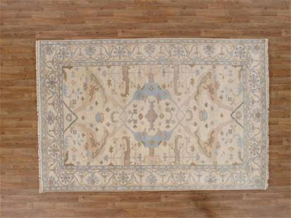 6 X 9 Exquisite Oushak Area Rug Made By Hand