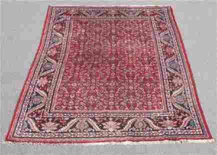 Semi Antique Persian Mahal Rug 8x12