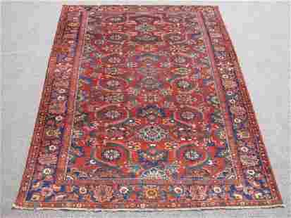 Soft Wool Pile Semi Antique Persian Bokhara
