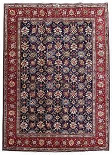Persian Tabriz, Natural Wool Made By Hand Rug 7x9