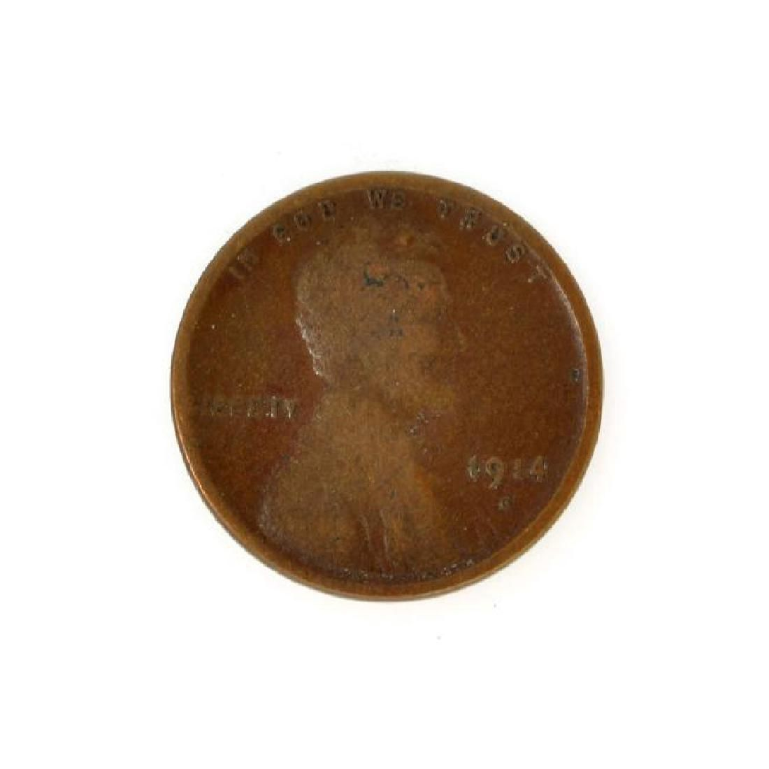 1914-D Lincoln One Cent Coin