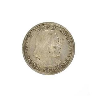 1893 Columbian Commemorative Half Dollar Coin