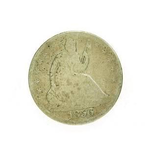 1856-O Liberty Seated Half Dollar Coin