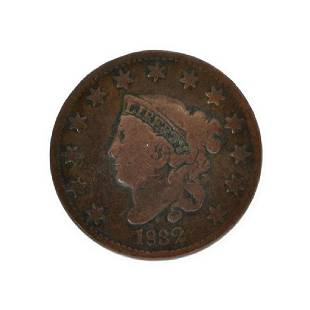 Rare 1832 Large Cent Coin
