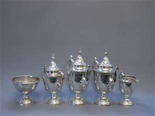 American Silverplate Coffee & Tea Set