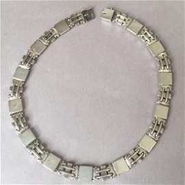 Georg Jensen Sterling Silver Art Deco Necklace