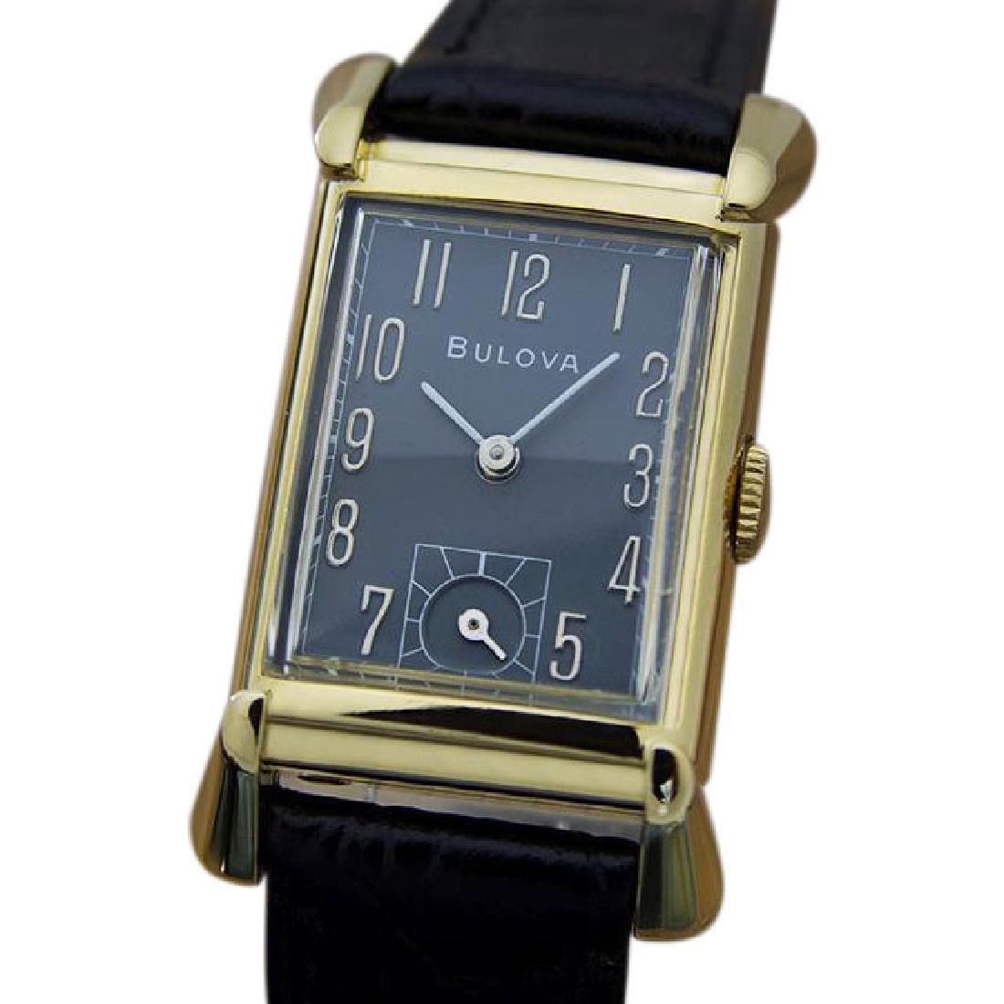 BULOVA | Rare Black Dial | 1940s