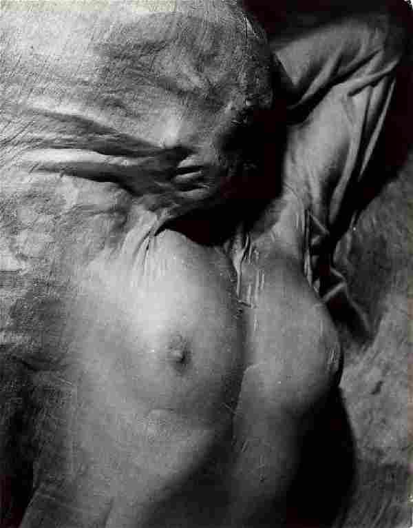 ERWIN BLUMENFELD - Nude under Wet Veil, 1936