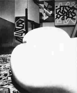 BILL BRANDT - Distorted Nude