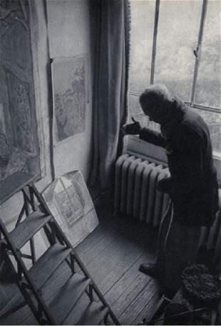 CARTIER-BRESSON - Bonnard in his Studio, 1944