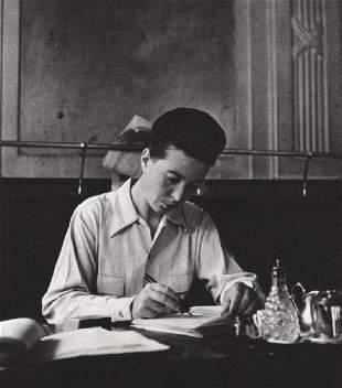 ROBERT DOISNEAU - Simon de Beauvoir, 1944
