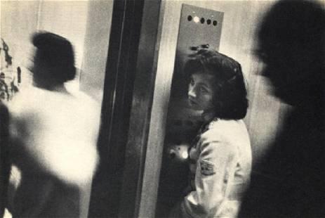 ROBERT FRANK: Elevator, Miami Beach