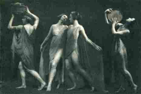 ARNOLD GENTHE - Marion Morgan Dancers