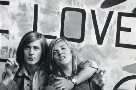 BURT GLINN - Peace and Love
