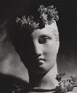 HORST - Classical Bust and Flowers, 1988