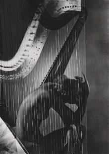 HORST - Lisa and Harp, Paris 1939