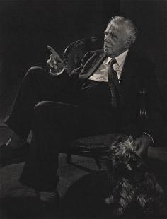 YOUSUF KARSH - Poet Robert Frost