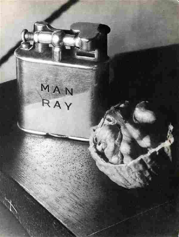 MAN RAY: Lighter & Walnut