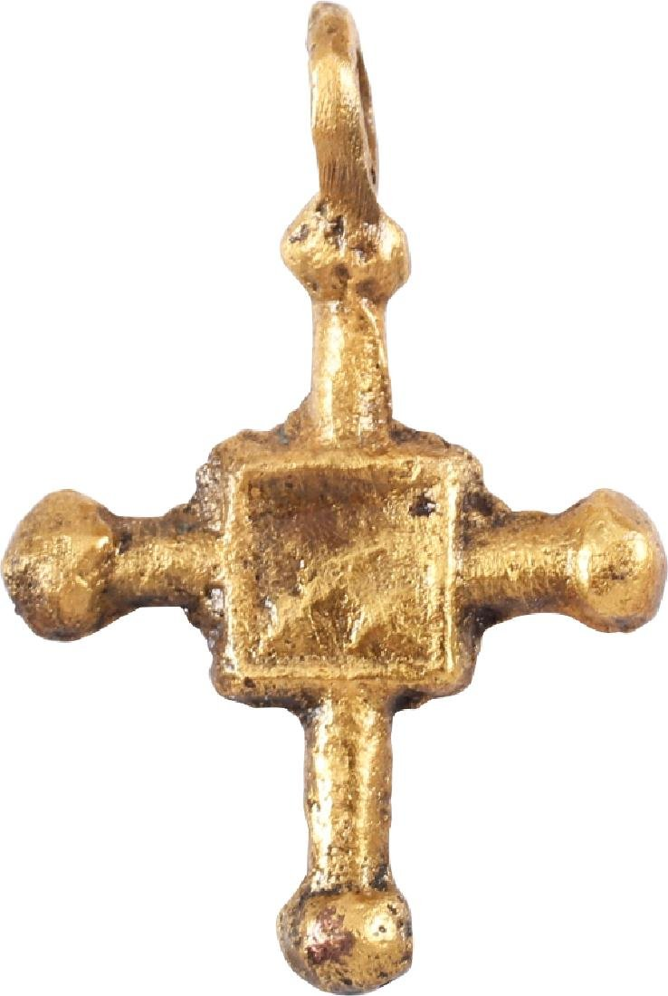 Medieval Christian Converts Cross C.800 Ad