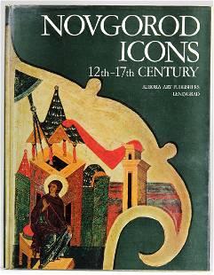 12th-17th Century Novgorod Icons Art Book