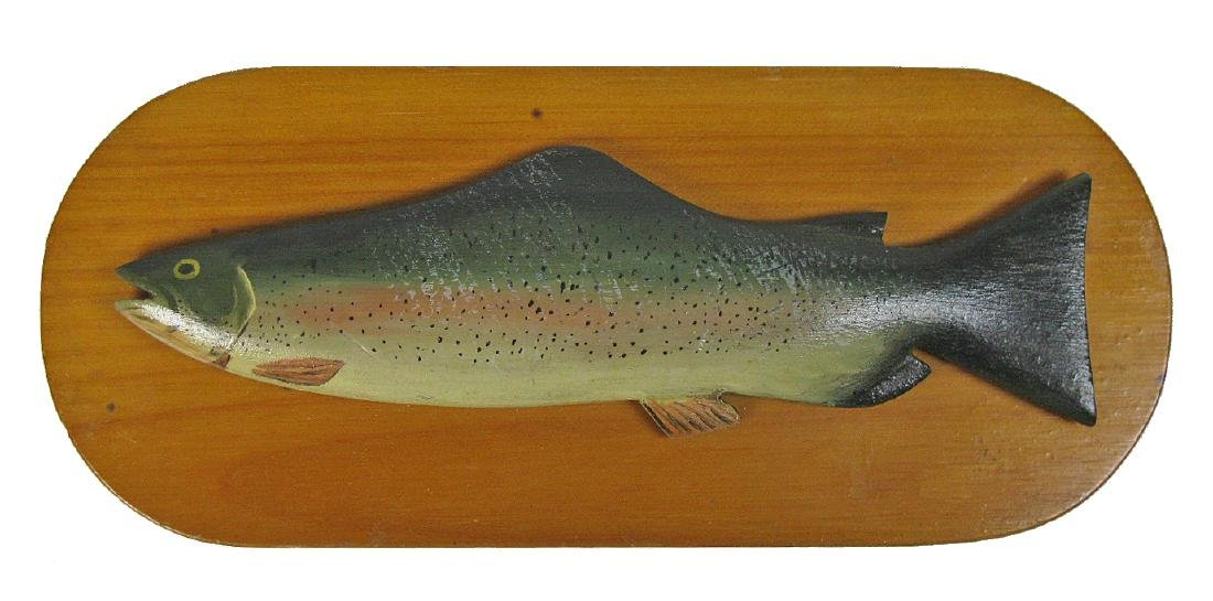 Carved Rainbow Trout
