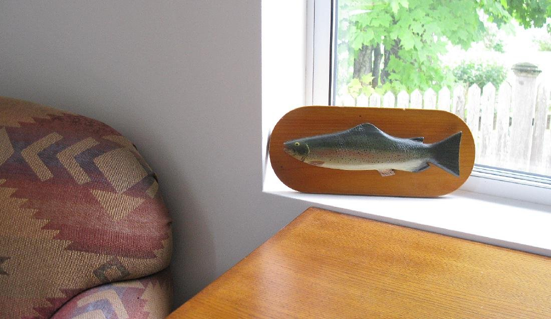 Carved Rainbow Trout - 4