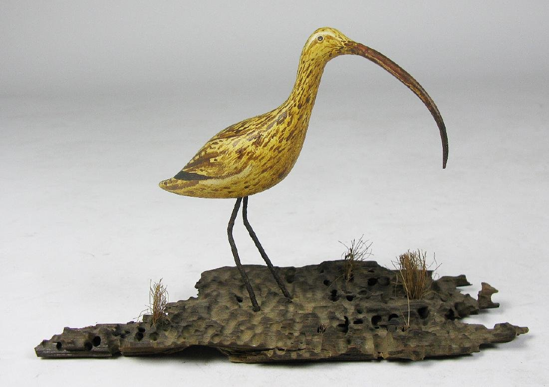 Long-billed Curlew Carving - 3