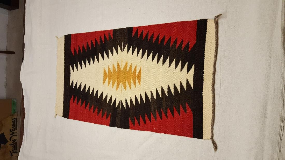 Large Navajo Ganado Throw - 2