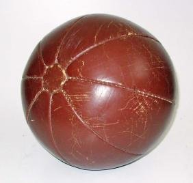 Old Leather Medicine Ball