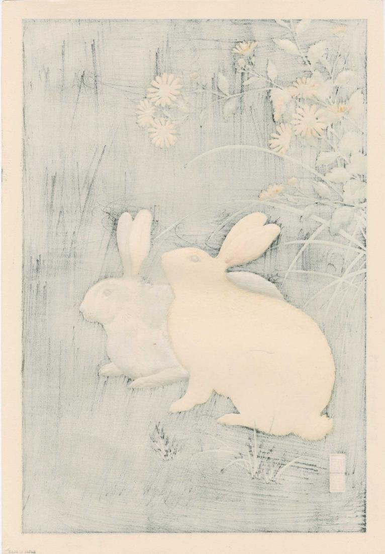 Hodo Nishimura: Two Rabbits at Night - 2
