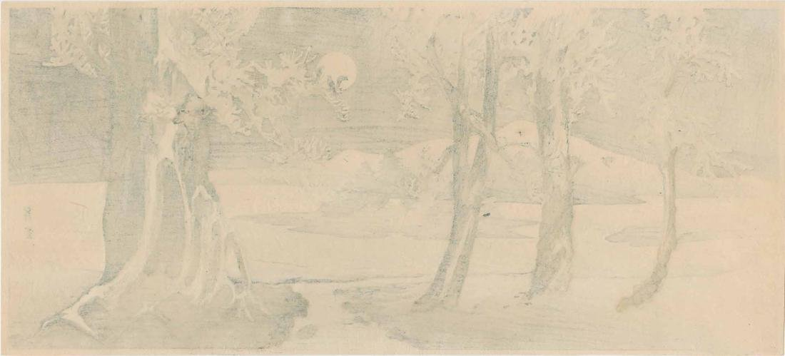 Shoun Yamamoto: Winter Landscape with Crows - 2