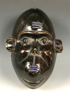 Bulu Monkey Mask From Cameroon