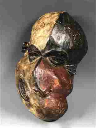 Pende Mask from Democratic Republic of Congo