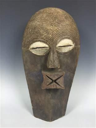 Songye Mask from Democratic Republic of Congo