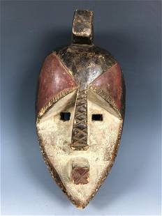 Lwalwa Mask from Democratic Republic of Congo