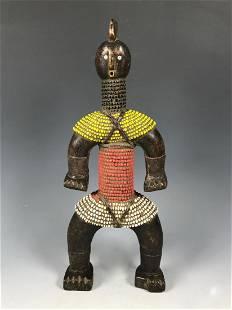 Namji Beaded Doll from Cameroon