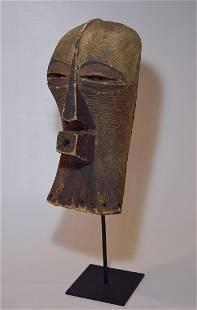 Old Songye Kifwebe Society African mask. African Art