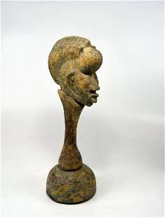 Rare old Dan Bassa Rattle African Musical instrument