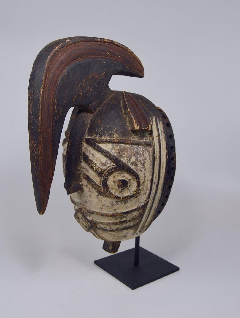 Fantastic Winiama African mask with Raised Crest