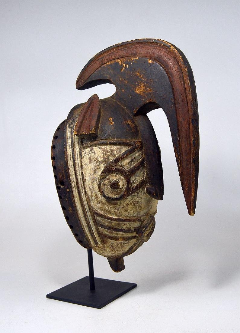 Fantastic Winiama African mask with Raised Crest - 2