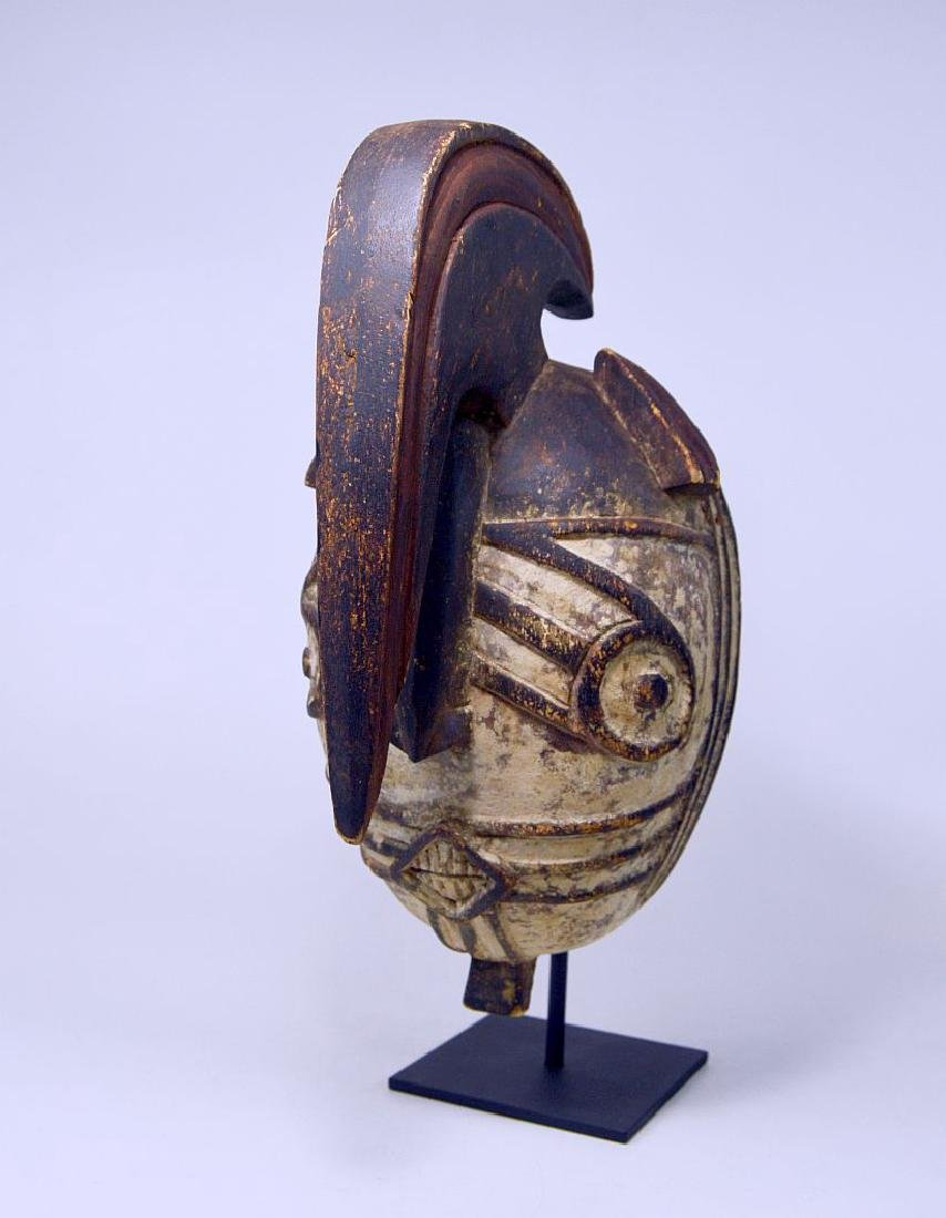Fantastic Winiama African mask with Raised Crest - 4