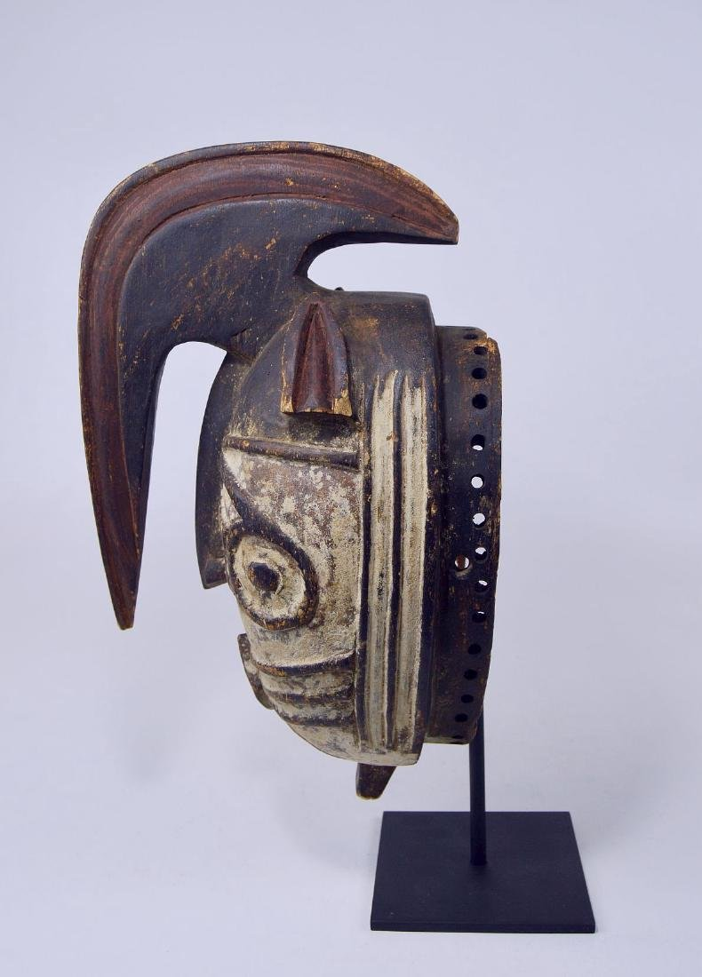 Fantastic Winiama African mask with Raised Crest - 7