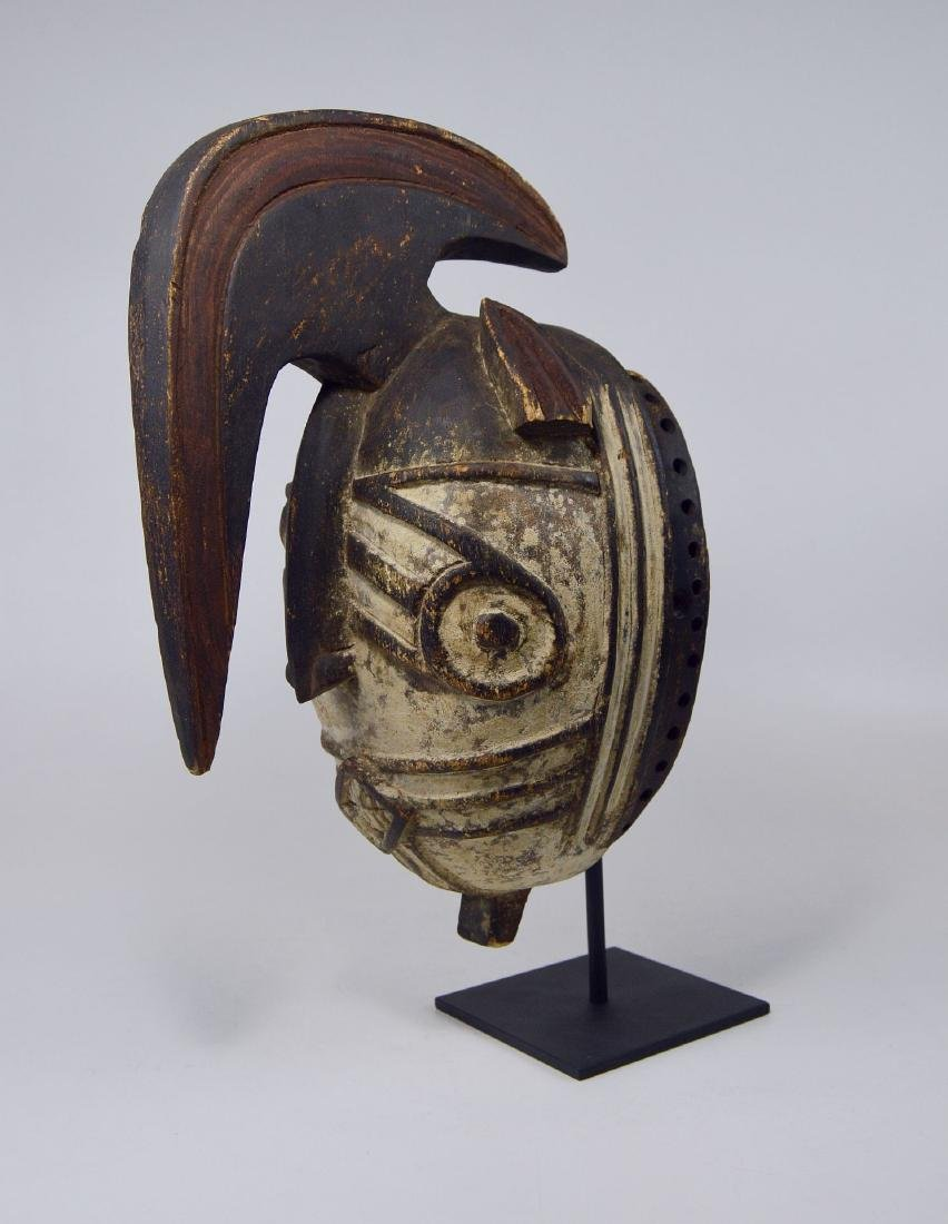Fantastic Winiama African mask with Raised Crest - 8